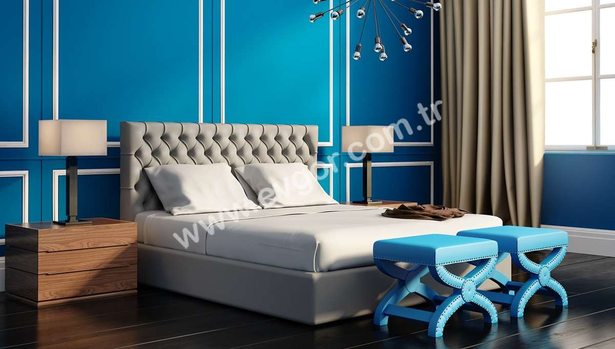 Portolya Otel Yatak Odası