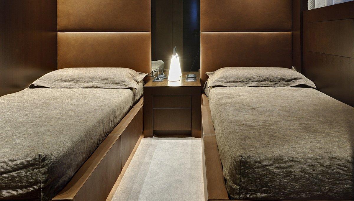 Rendered Otel Yatak Odası