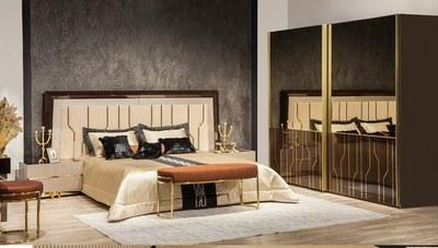 Romeo Luxury Metal Yatak Odası