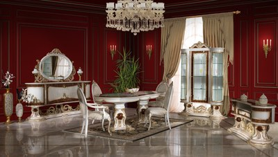 Roses Klasik Yemek Odası