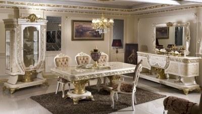 Safir Krem Yemek Odası