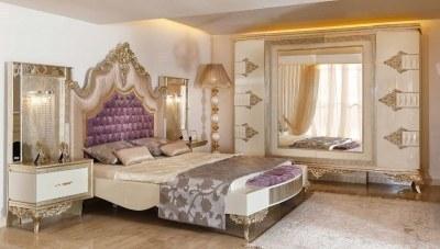 Saltane Klasik Yatak Odası