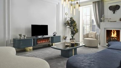 Secret Luxury Şömineli TV Sehpası