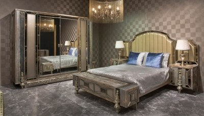 Silvero Klasik Yatak Odası