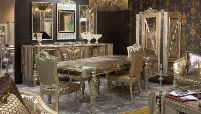 Silvero Klasik Yemek Odası