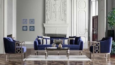 Simlayo Art Deco Koltuk Takımı