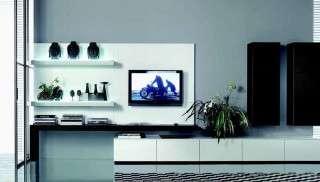 Siyah-Beyaz Modern Duvar Ünitesi Fiyatları