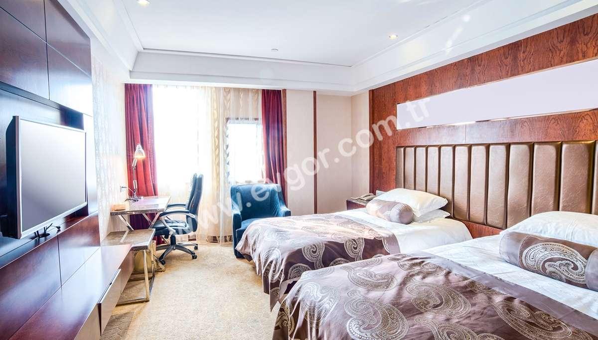 Stello Otel Yatak Odası