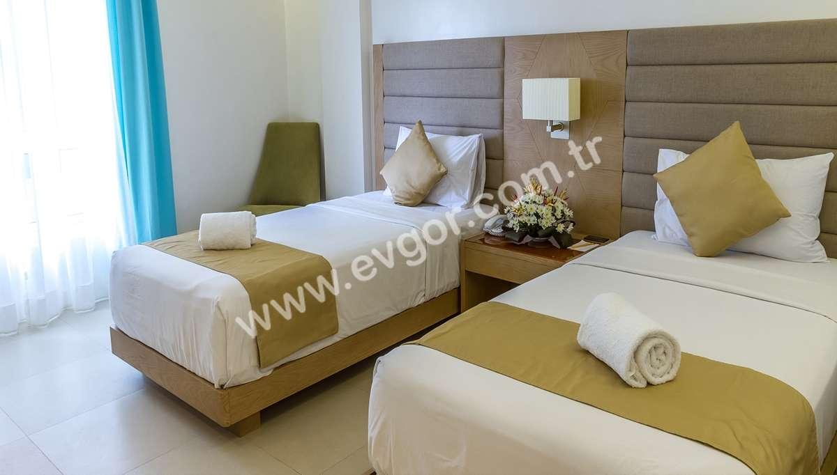 Sunero 2'li Otel Yatak Odası