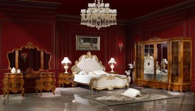 Vahide Klasik Ceviz Yatak Odası