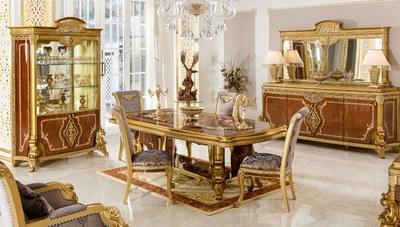 Vanseras Klasik Yemek Odası