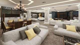 Venegra Otel Oturma Grubu - Thumbnail