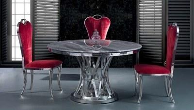 Veneza Metal Yemek Masası