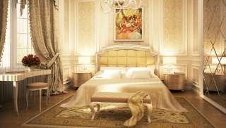 Venezya Otel Yatak Odası