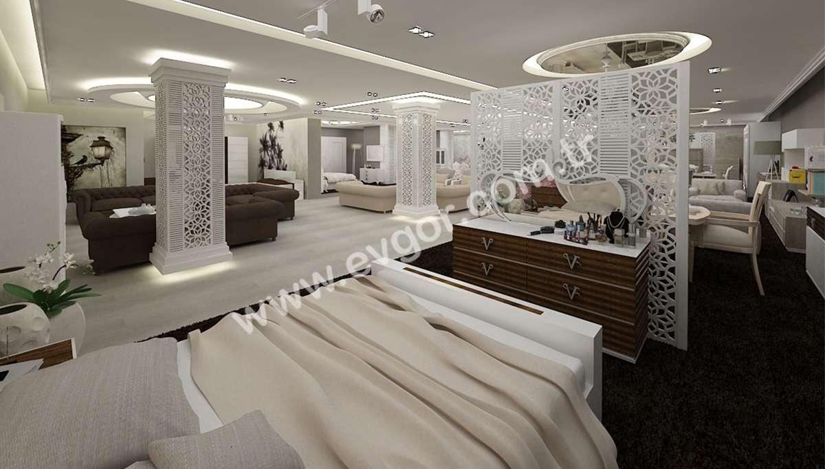 Verali Otel Tipi Yatak Odası Takımı