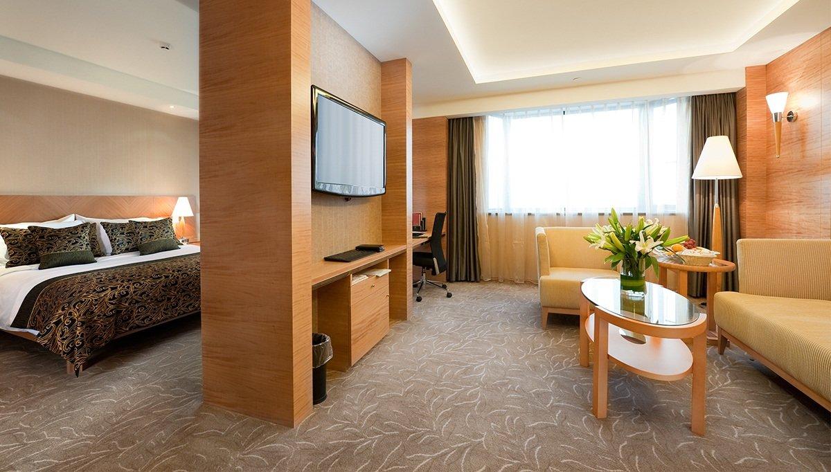 Viviendas Otel Yatak Odası