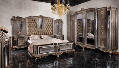 Zerafet Klasik Yatak Odası